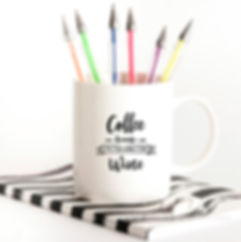 Coffee Because It's Too Early | Coffee Quotes for Silhouette Cameo and Cricut