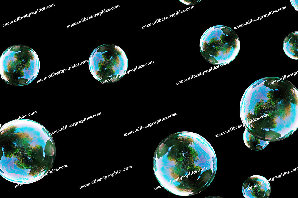 Beautiful Blowing Bubble Overlays | Stunning Overlays for Photoshop on Black