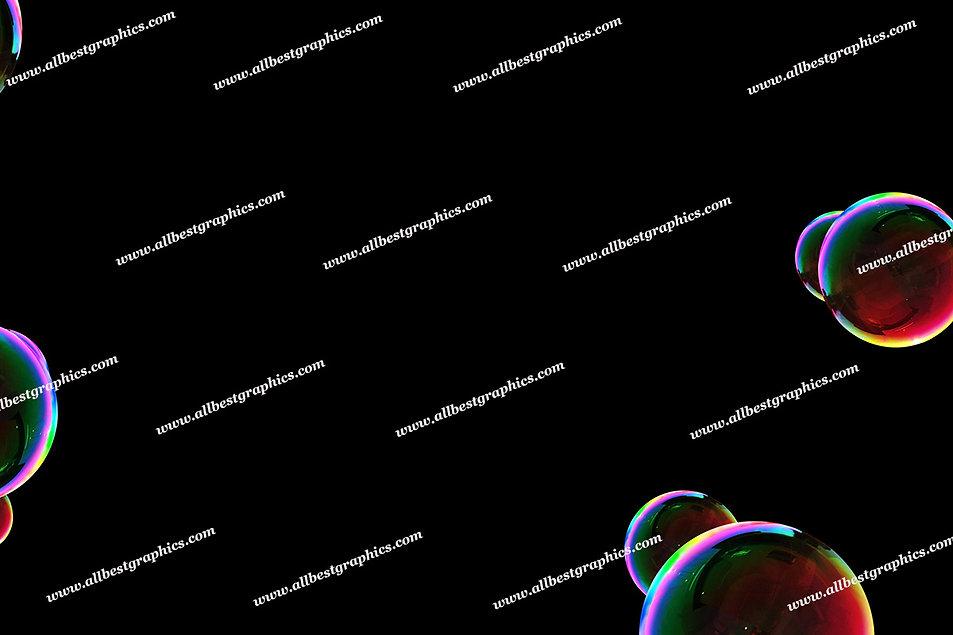 Beautiful Colorful Bubble Overlays | Unbelievable Photoshop Overlays on Black