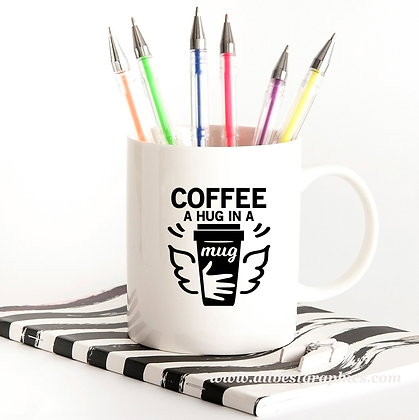 Coffee a Hug in a Mug | Slay and Silly Coffee Quotes for Silhouette Cameo