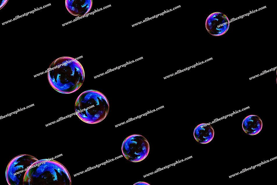 Whimsical Realistic Bubble Overlays | Incredible Photo Overlay on Black