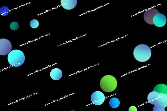 Awesome Festive Lights Bokeh Texture   Fantastic Photo Overlay on Black