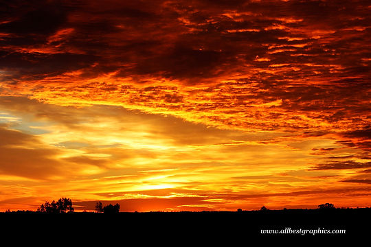 Dreamy twilight sunset overlay with clouds | Photo overlays