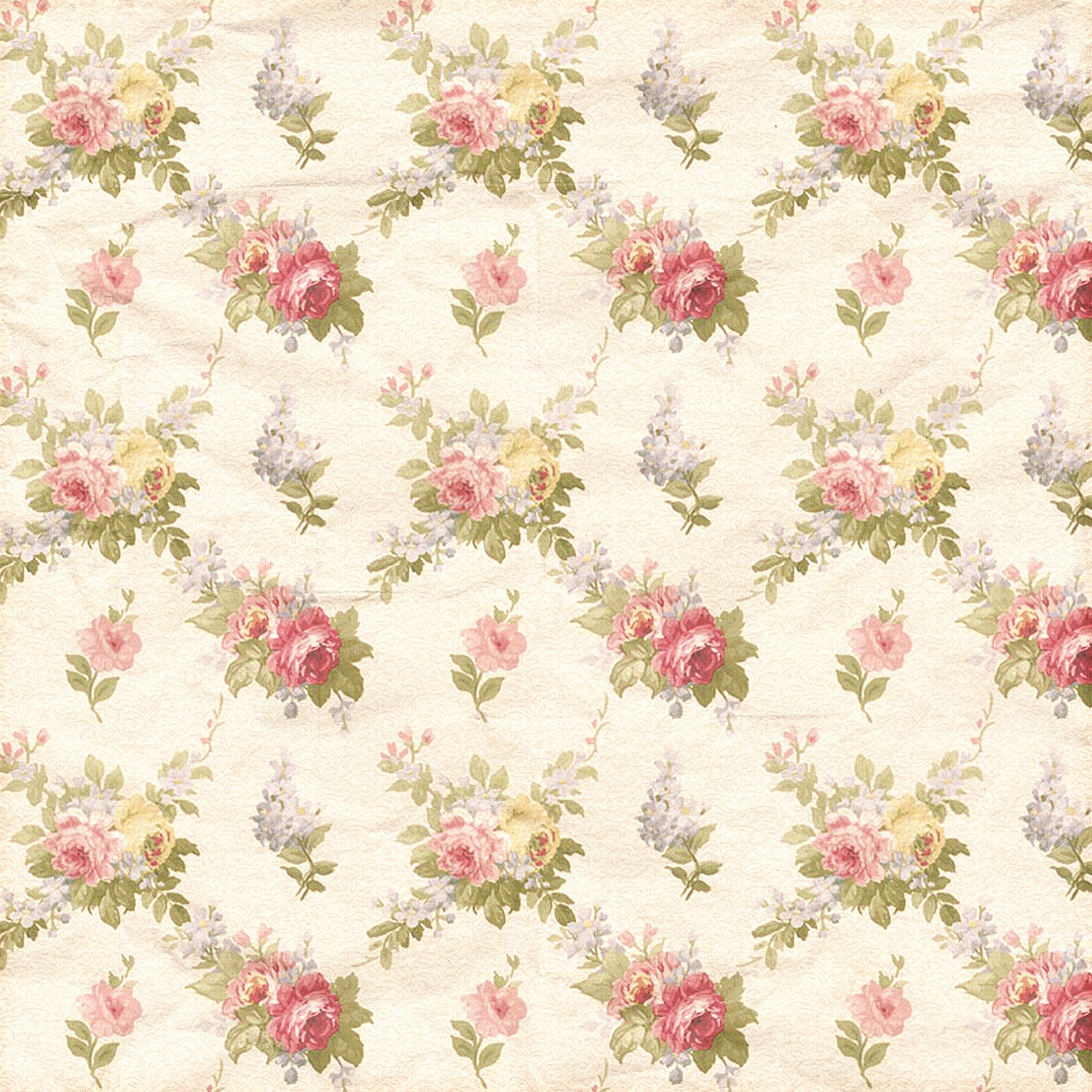 Pleasant Shabby Chic Floral Digital Paper With Pastel Flowers Beutiful Home Inspiration Xortanetmahrainfo