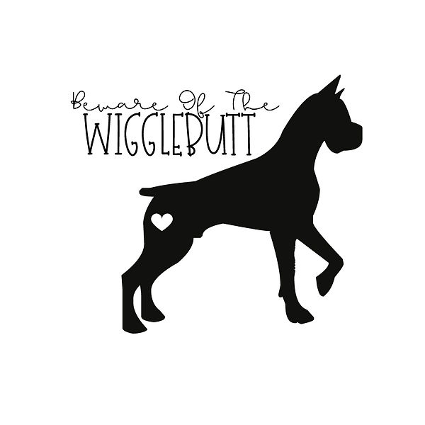 Beware of the wigglebutt | Free download Iron on Transfer Funny Quotes T- Shirt Design in Png