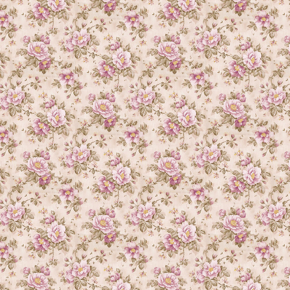 Wedding floral digital paper with roses | Handmade Digital Paper