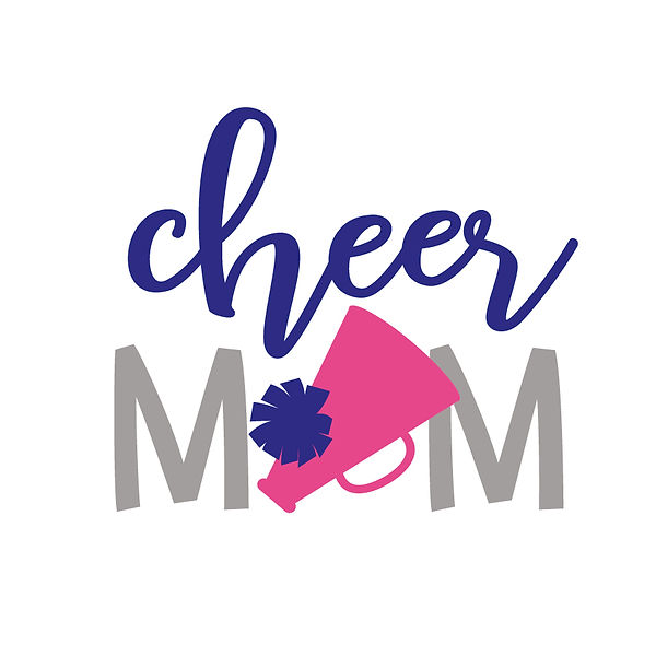 Cheer mom squad  | Free Printable Sassy Quotes T- Shirt Design in Png
