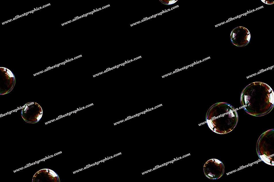 Gorgeous Colorful Bubble Overlays | Stunning Photoshop Overlays on Black