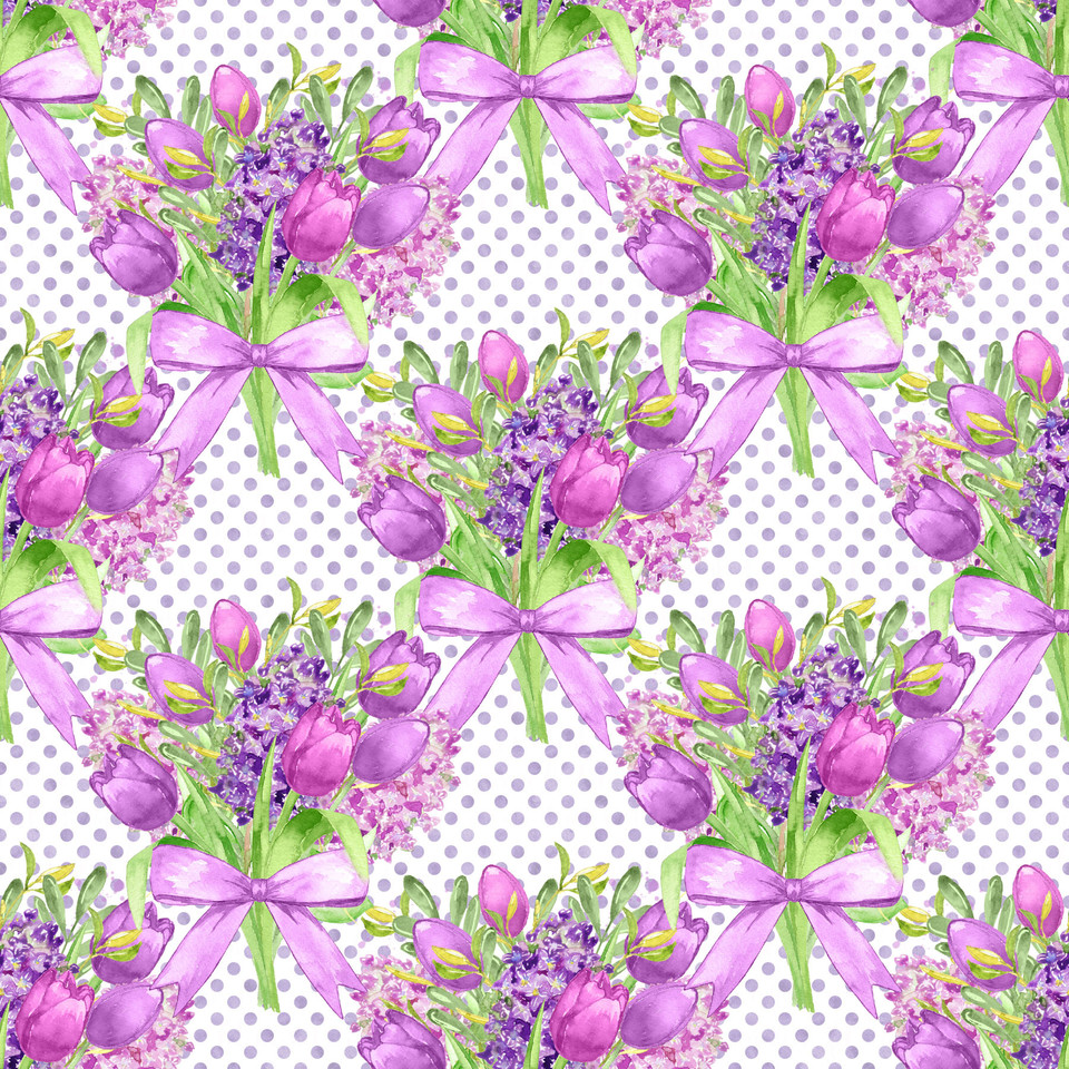 Awesome watercolor digital paper with floral background | Scrapbook Paper