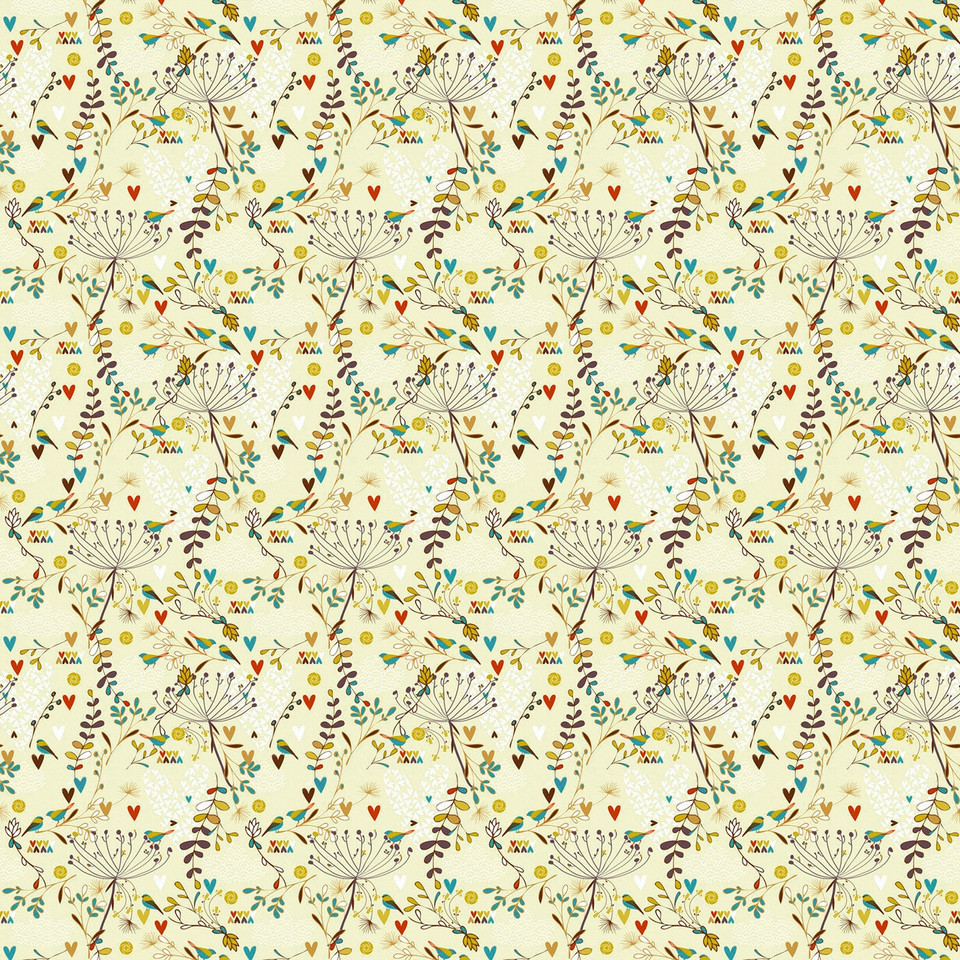 Vintage floral digital paper with peonies | Textured Digital Paper