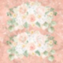 Great watercolor digital paper with peonies | Textured Digital Paper