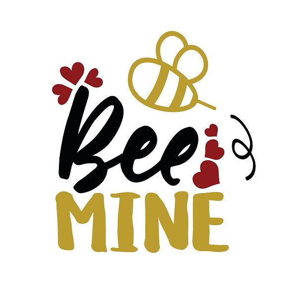 Bee mine   Free Iron on Transfer Slay & Silly Quotes T- Shirt Design in Png