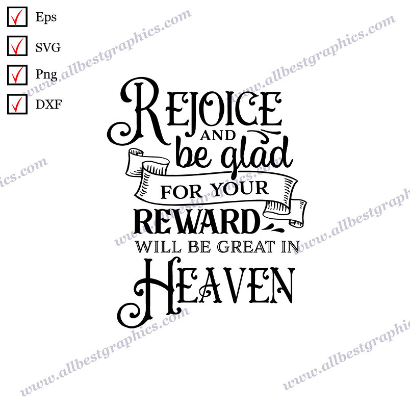 Rejoice and be a Gkad   Funny Sayings Christmas Design Vector Graphics Png Dxf