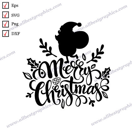 Merry Christmas | Best Cool Quotes Christmas DecorSVG Dxf Png Eps