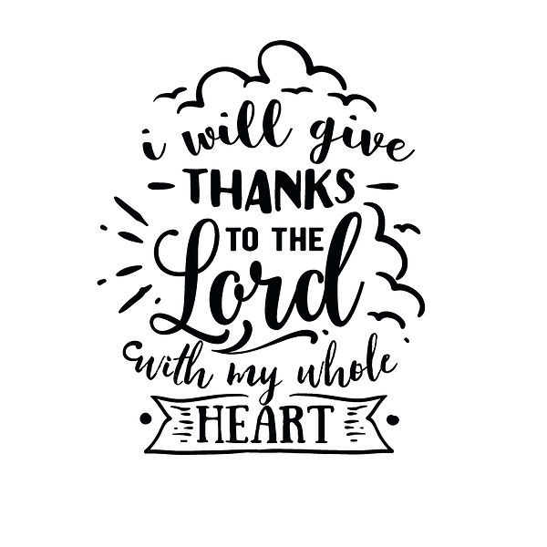 I will give thanks Png | Free download Iron on Transfer Sassy Quotes T- Shirt Design in Png