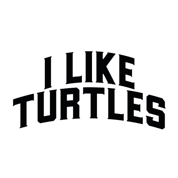 I like turtles | Free download Iron on Transfer Sassy Quotes T- Shirt Design in Png
