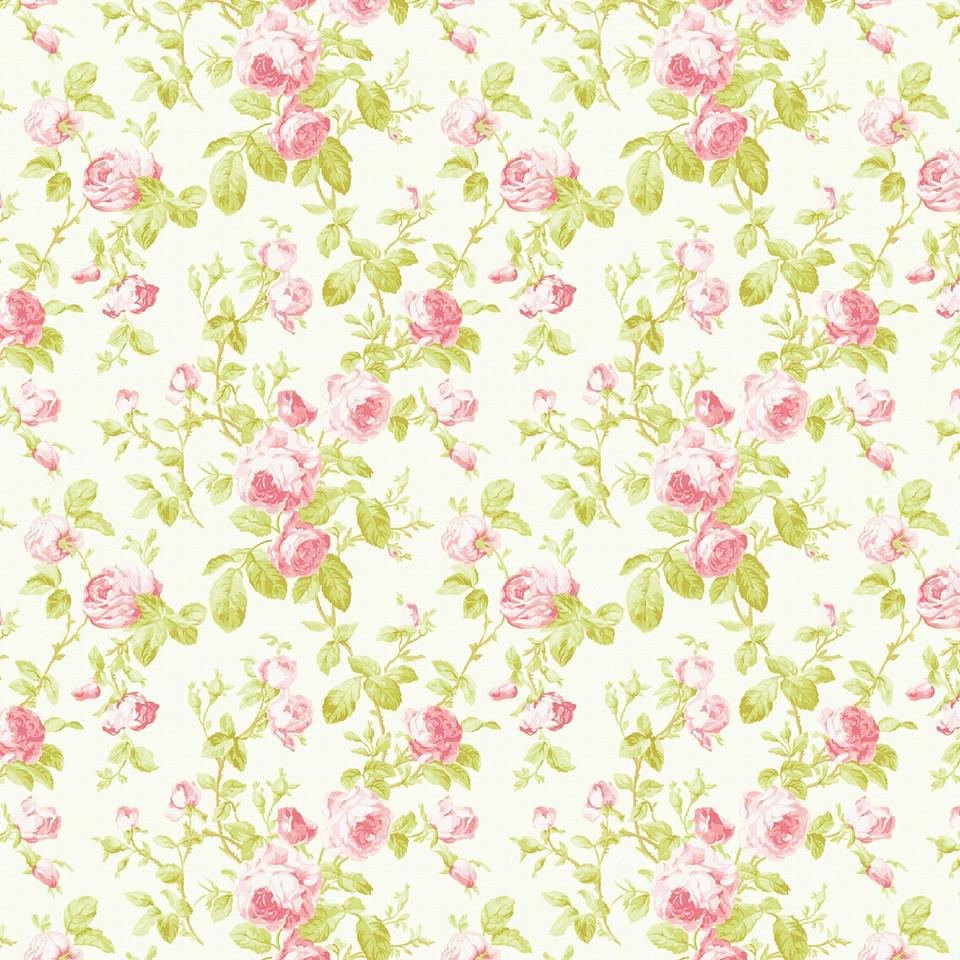 Wedding floral digital paper with pastel flowers | Partterned Digital Paper