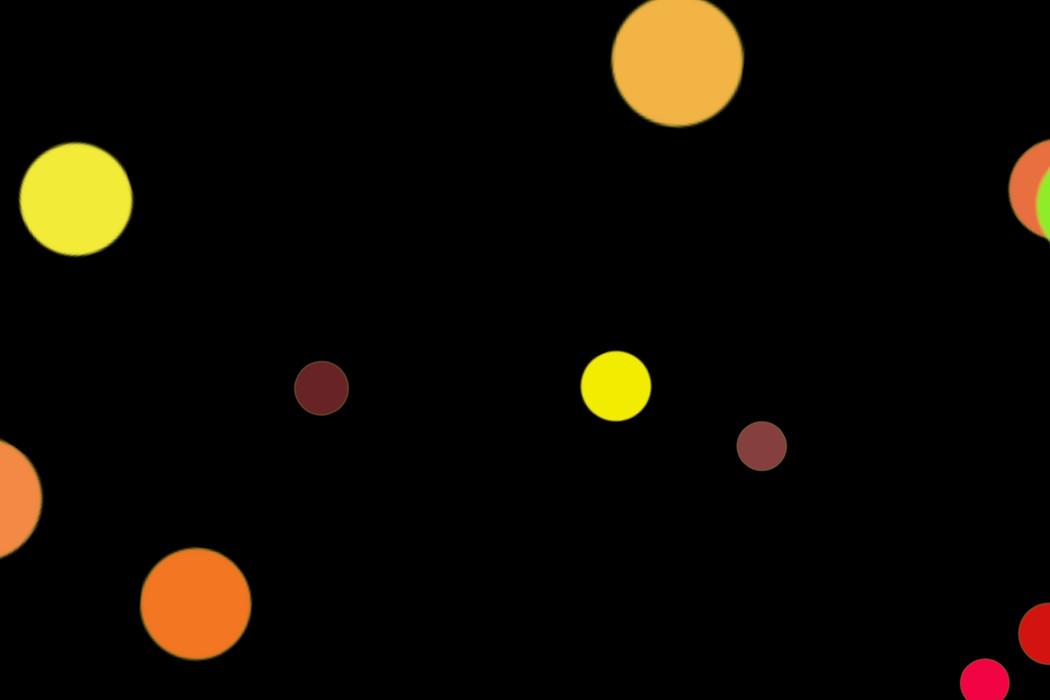 Realistic City Light Bokeh Clipart on black background | Freebies