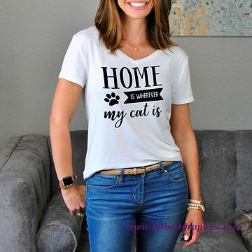 Home Is Wherever My Dog Is | Cool Quotes & Signs about Pets for Silhouette Cameo