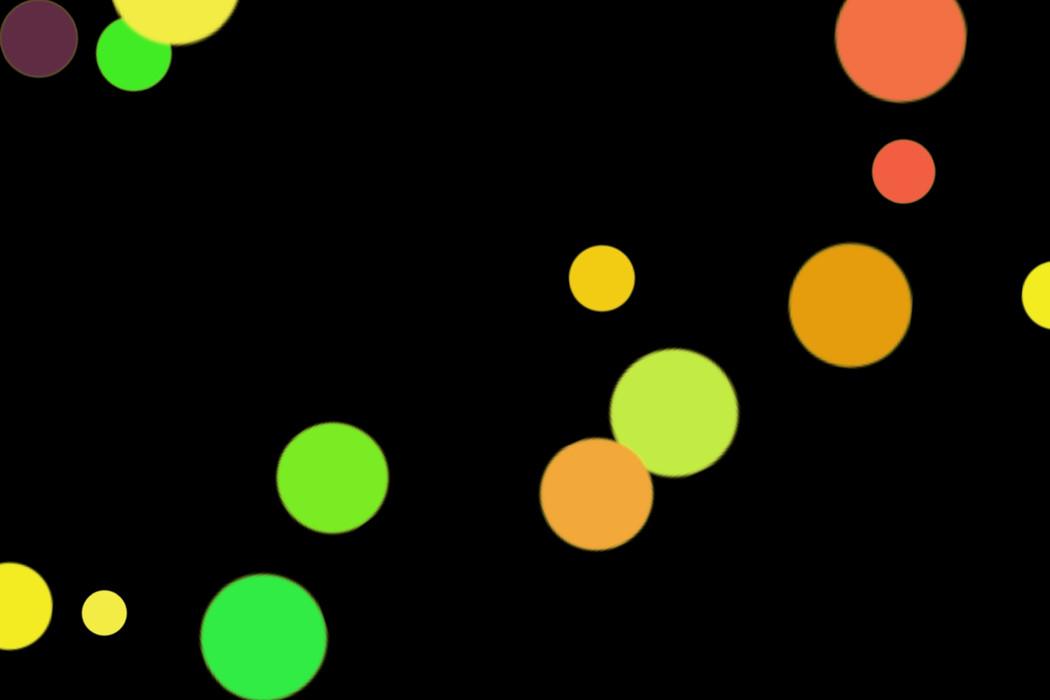 Romantic Party Light Bokeh Texture on black background | Photo Overlays
