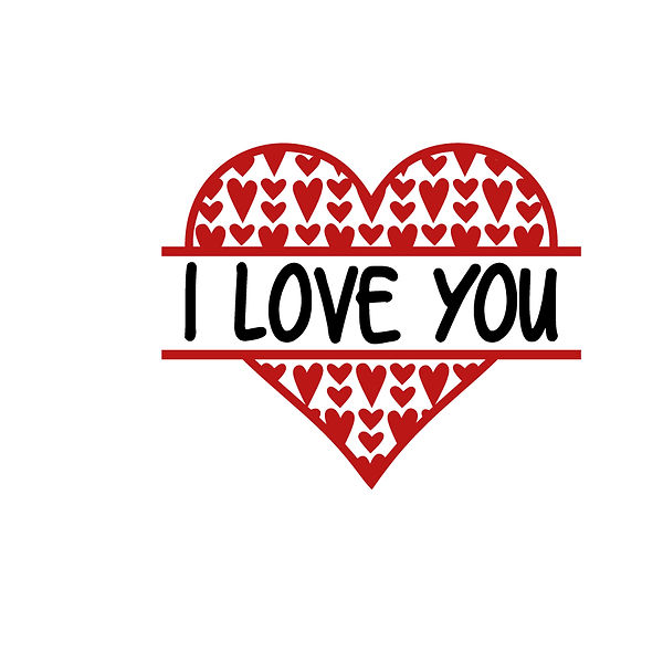 I love you  Png | Free download Iron on Transfer Sassy Quotes T- Shirt Design in Png