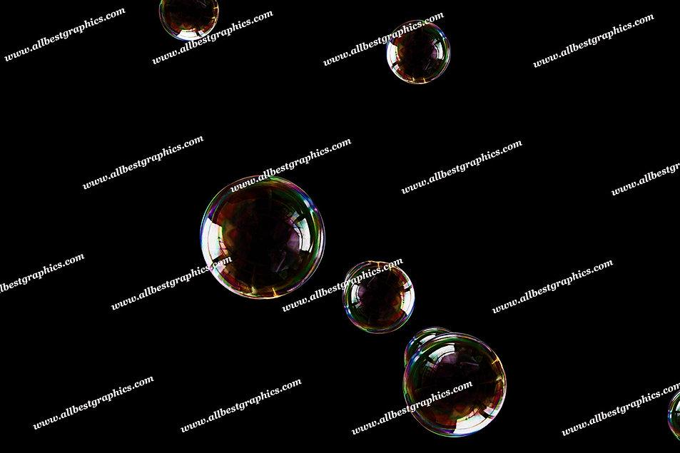 Natural Realistic Bubble Overlays   Stunning Photo Overlay on Black