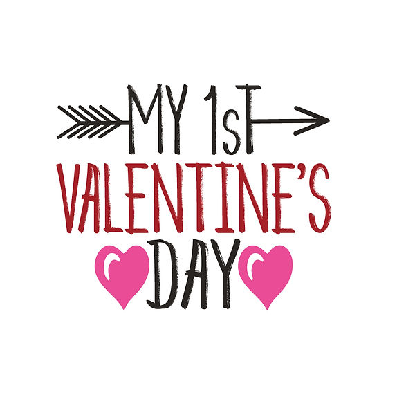 My 1st valentine day Png | Free download Printable Cool Quotes T- Shirt Design in Png