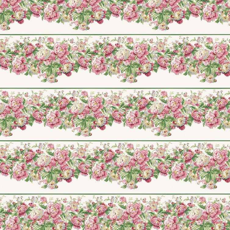 Pastel roses digital paper with seamless design | Craft Supplies & Papers