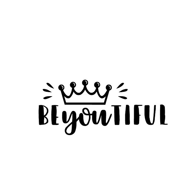 Be you iful | Free Printable Sarcastic Quotes T- Shirt Design in Png