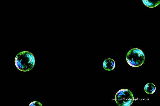 Stunning air soap bubbles on black background   Bubble Photoshop Overlay