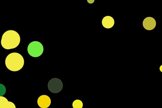 Gorgeous Night Light Bokeh Background on black background | Freebies