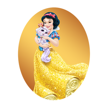 Snow White and the Seven Dwarfs | Disney characters clip art - size 1500x1500 transparent background