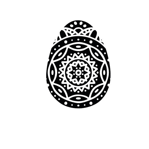 Full mandala egg Png | Free download Iron on Transfer Sarcastic Quotes T- Shirt Design in Png