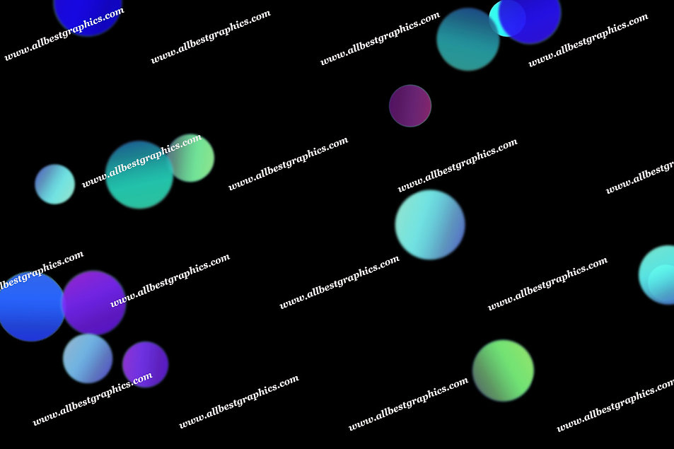 Colorful Romantic Lights Bokeh Overlays | Unbelievable Photoshop Overlay on Blac