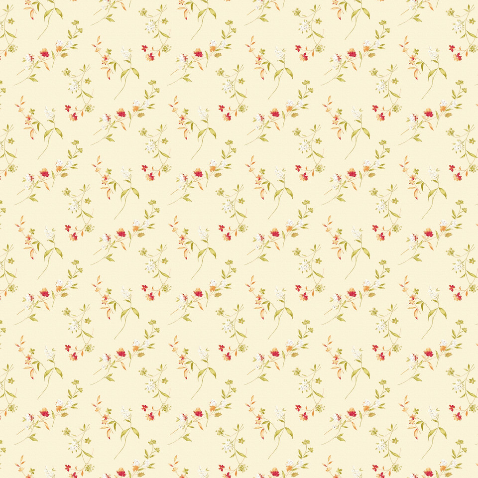 Watercolor floral digital paper with peonies | Printable Digital Paper