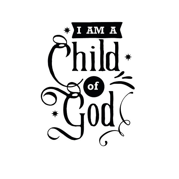 I am a child of god Png | Free download Iron on Transfer Sassy Quotes T- Shirt Design in Png