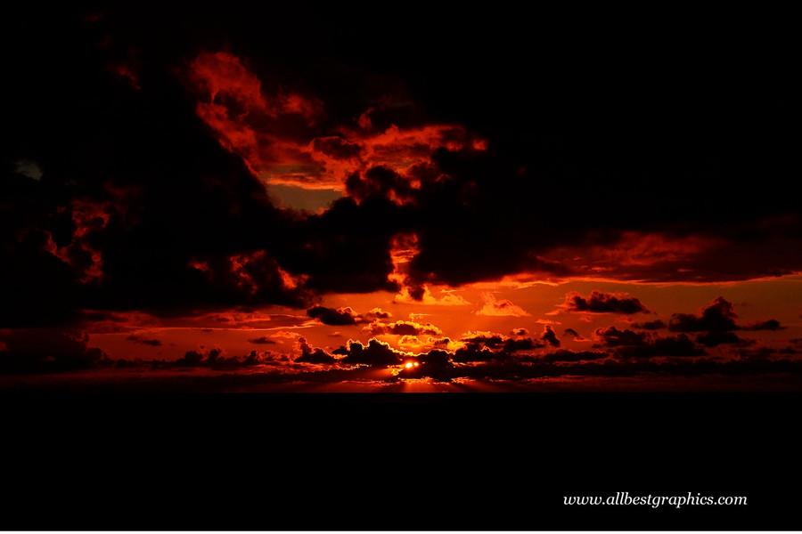 Dreamy dark sunset sky overlay   Overlays for Photoshop