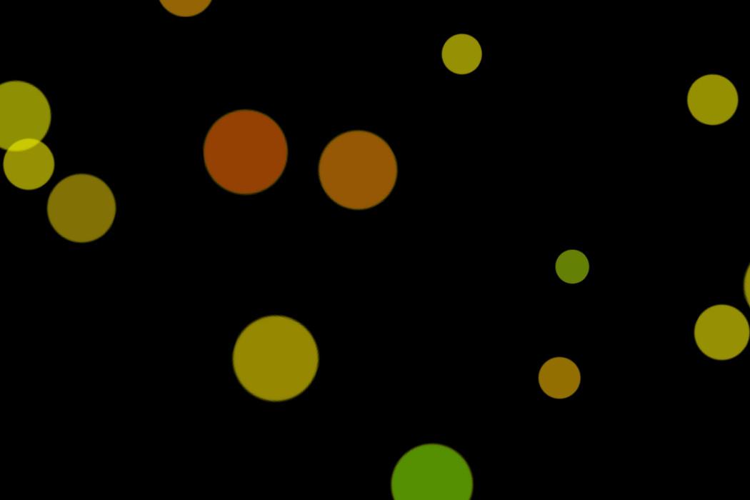 Romantic Party Light Bokeh Clip Art on black background | Freebies