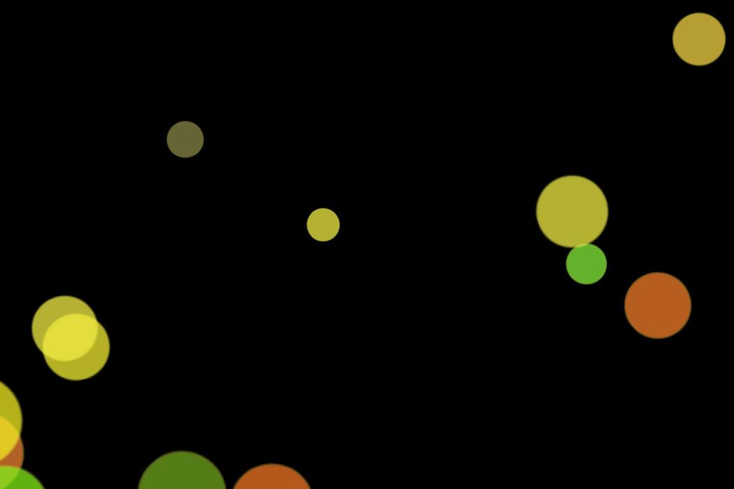 Colorful Festival Light Bokeh Overlay on black background | Free Overlays