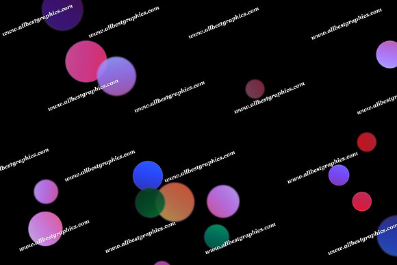 Awesome Holiday Lights Bokeh Overlays | Elegant Photoshop Overlays on Black