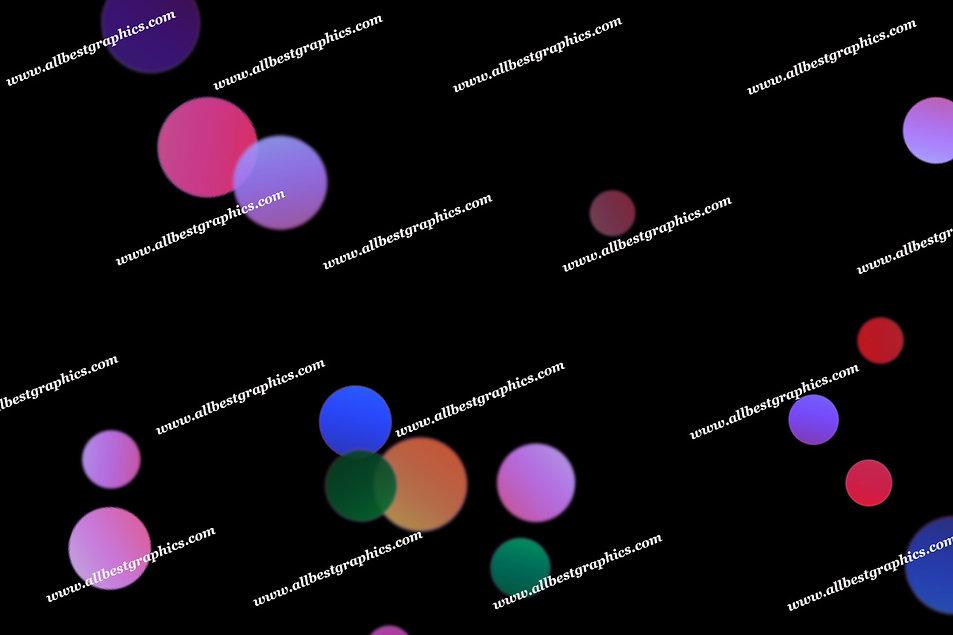 Awesome Holiday Lights Bokeh Overlays   Elegant Photoshop Overlays on Black