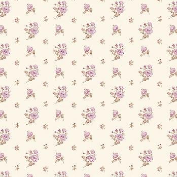Summer floral digital paper with peonies   Scrapbook Digital Paper