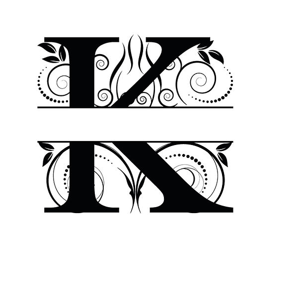 K monogram Png | Free download Iron on Transfer Funny Quotes T- Shirt Design in Png
