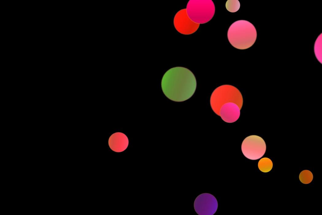 Beautiful Festival Light Bokeh Clipart on black background | Photoshop Overlays