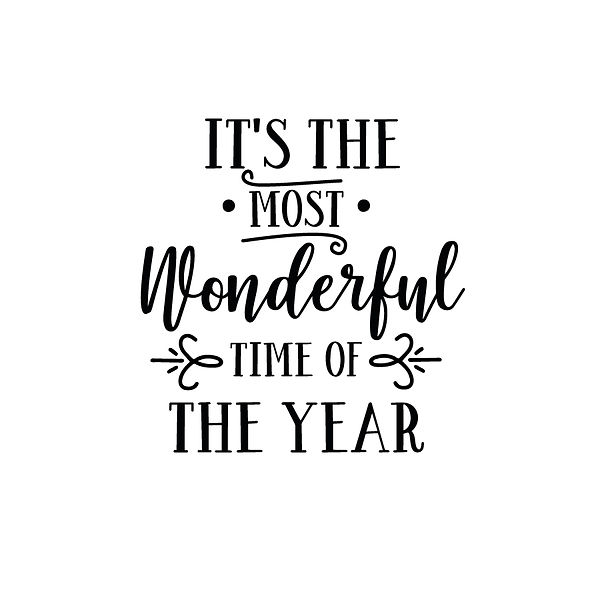 It is the most wonderful time Png | Free download Printable Cool Quotes T- Shirt Design in Png