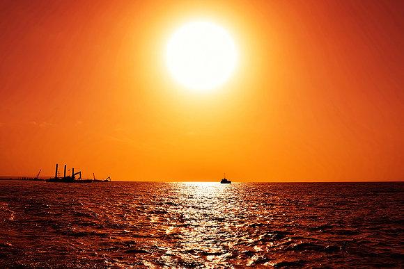 Incredible tropical sunset sky photoshop overlays - Sydney sky background img_2712031