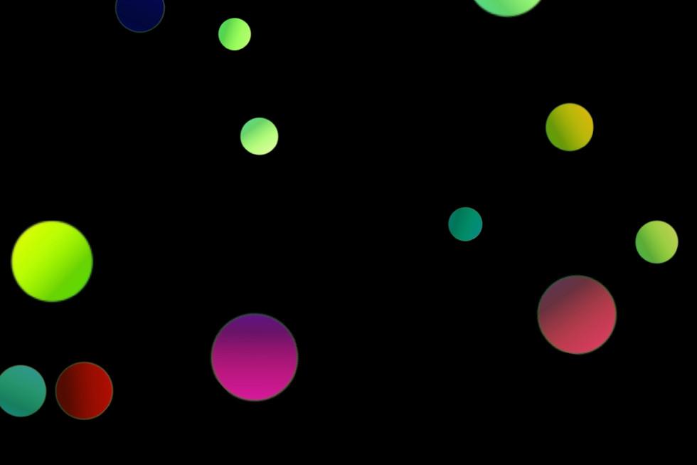 Romantic Christmas Light Bokeh Background on black background | Free Download