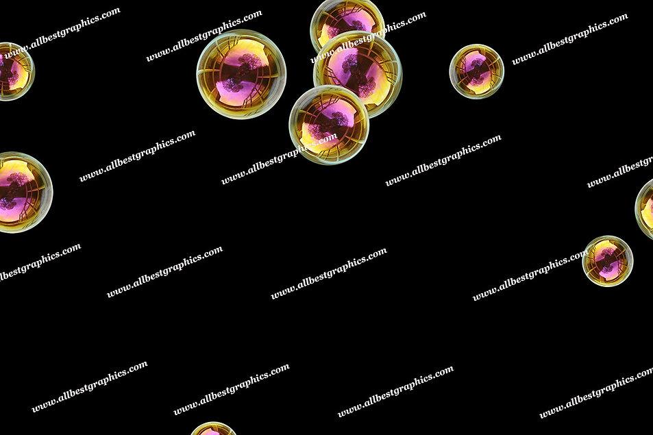 Gorgeous Realistic Bubble Overlays | Fantastic Photoshop Overlays on Black