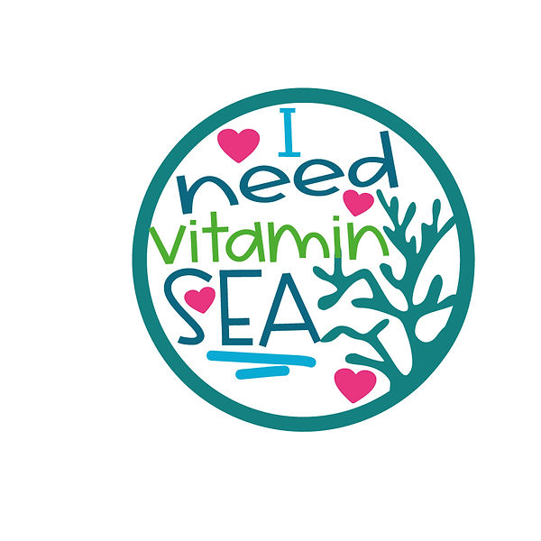 I need vitamin sea Png   Free Printable Slay & Silly Quotes T- Shirt Design in Png