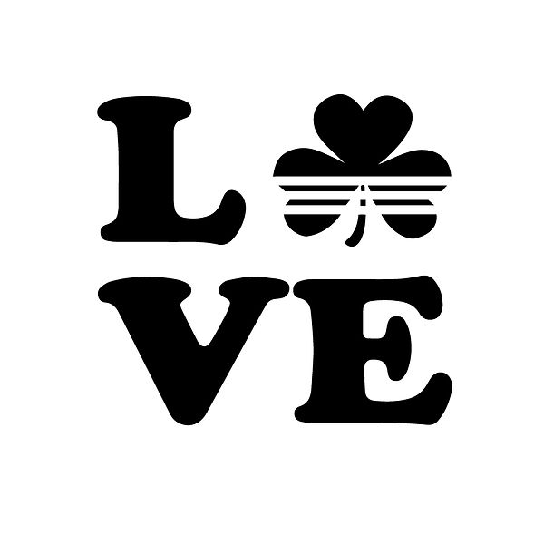 Love irish Png   Free download Iron on Transfer Funny Quotes T- Shirt Design in Png